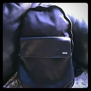 Calvin Klein Bags - Calvin Klein book bag partly leather